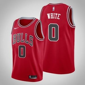 Chicago Bulls #0 Coby White Jersey